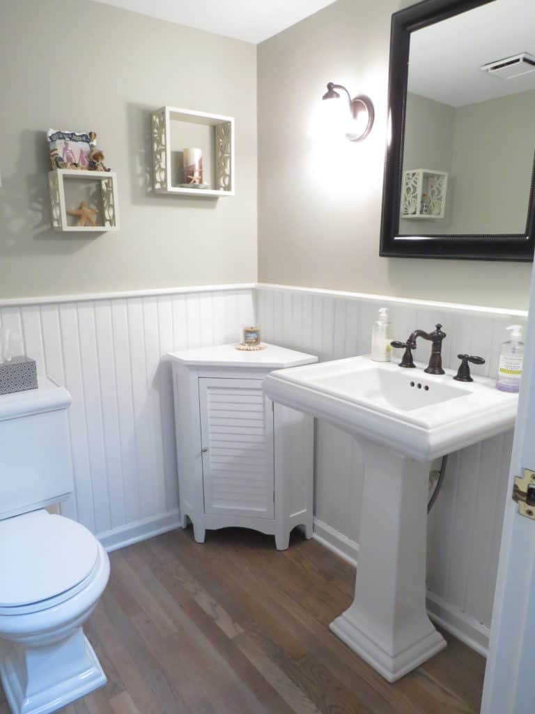 House Tour, The Powder Room, Half Bathroom