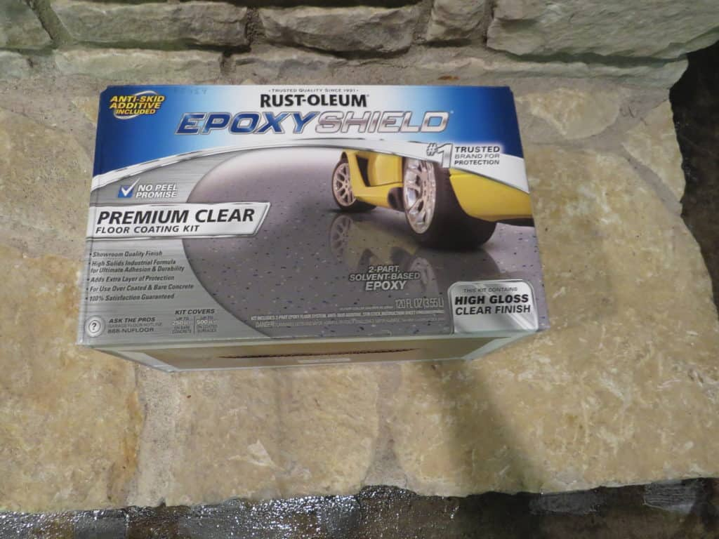 Rust-oleum's Epoxy Shield kit