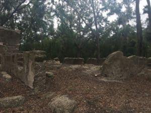 Stoney Baynard Ruins in Hilton Head Island