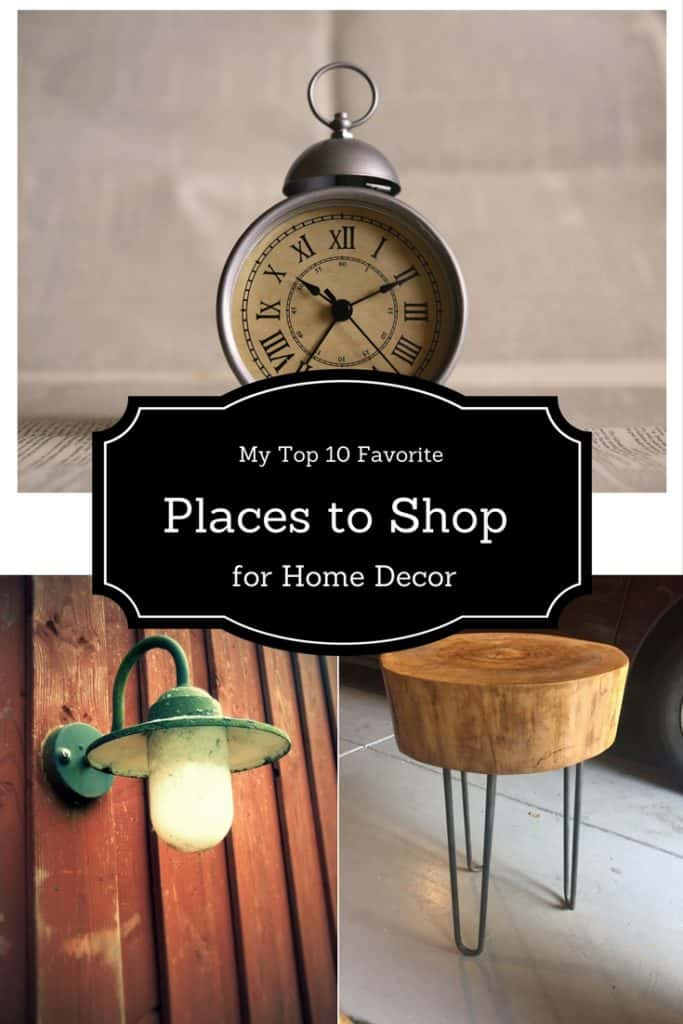 My Top 10 Favorite places to shop