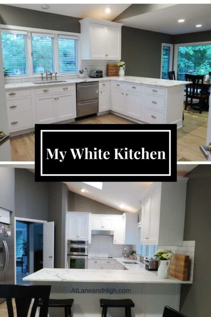 My White Kitchen
