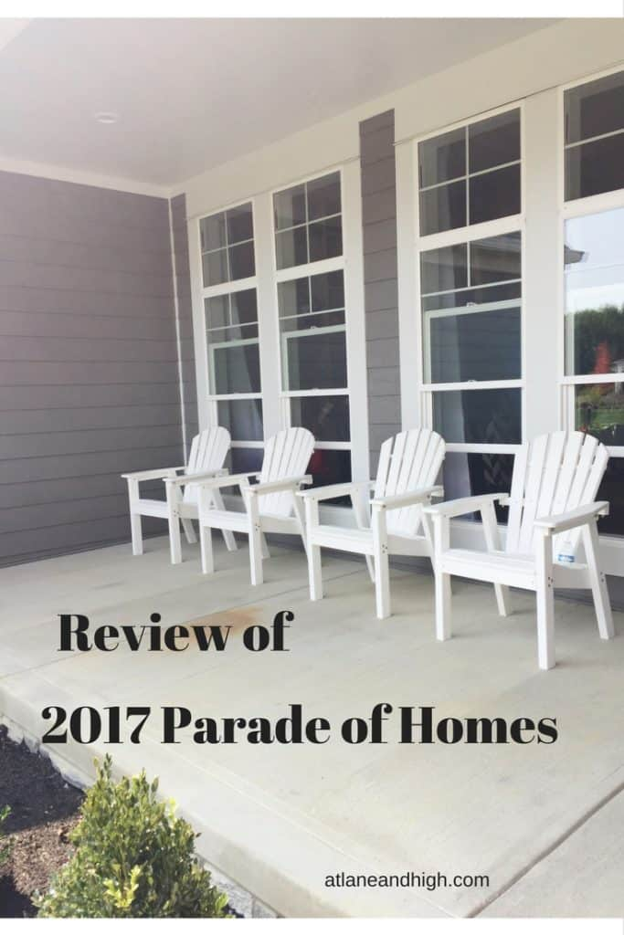 Review of 2017 Parade of Homes