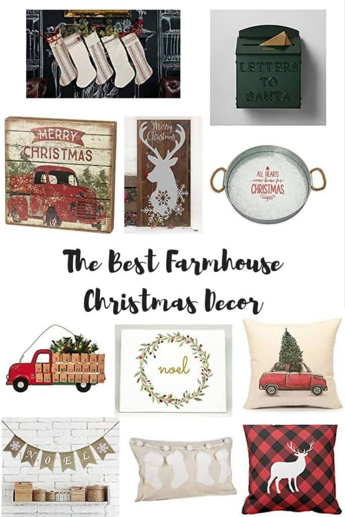 The Best Farmhouse Christmas Decor
