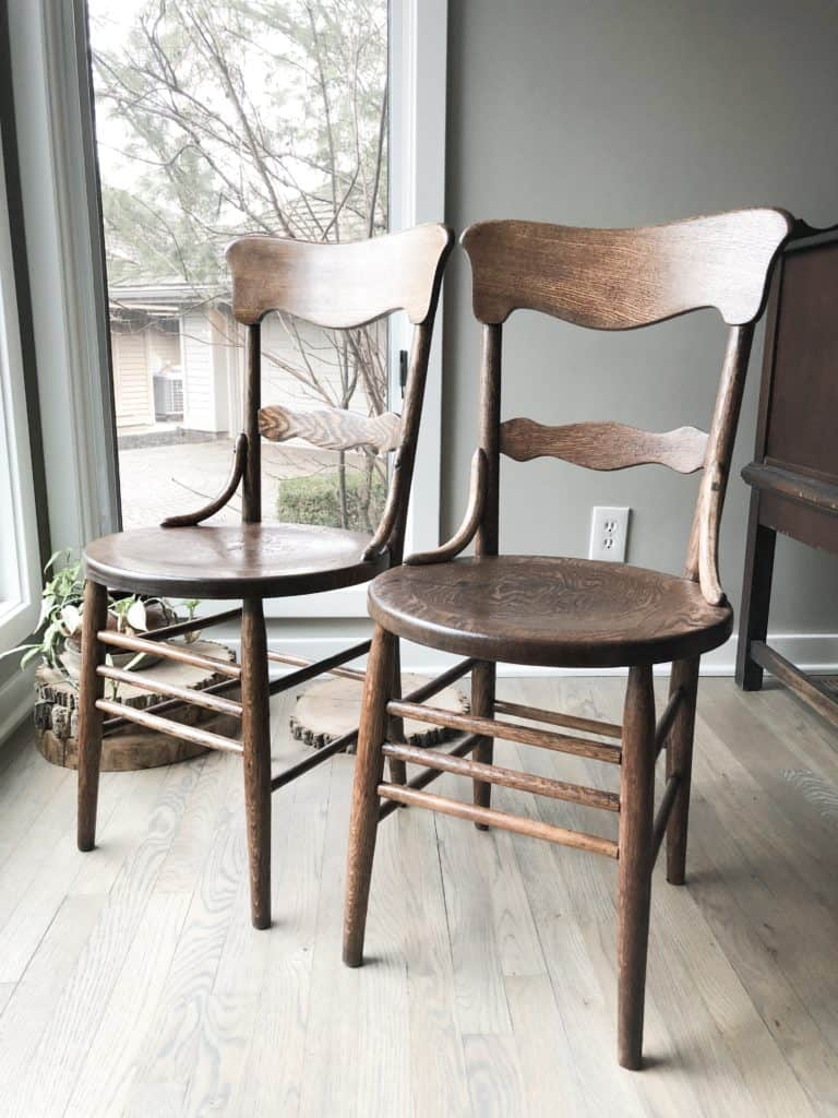 How to ReStain a Wood Chair