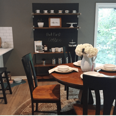Fixer Upper Style Coffee Bar