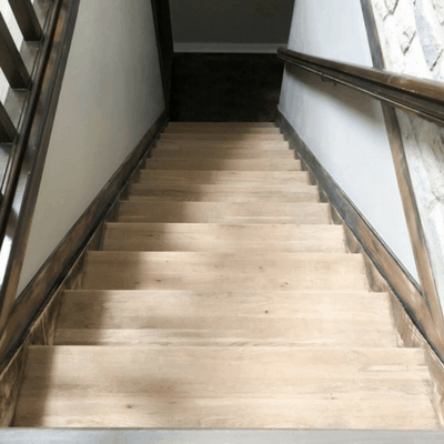 How to Refinish Stairs Week 1