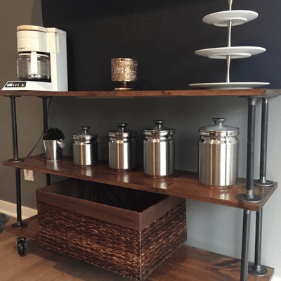 How to build Industrial Shelves