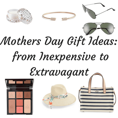 Mothers Day is just around the corner, are you prepared?  I know I never am, so I rounded up some Mothers Day Gift Ideas to help you out.  You can find ideas under $50, $50-$100 and over $100.  Perfect for everyone and every budget!