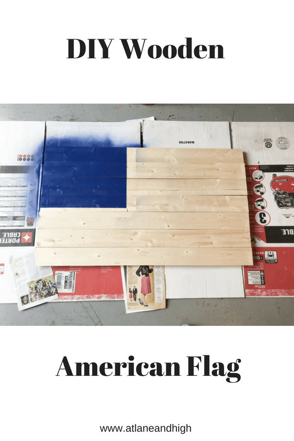 How to make a Wooden American Flag in one weekend!