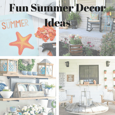Fun Summer Decor Ideas.
