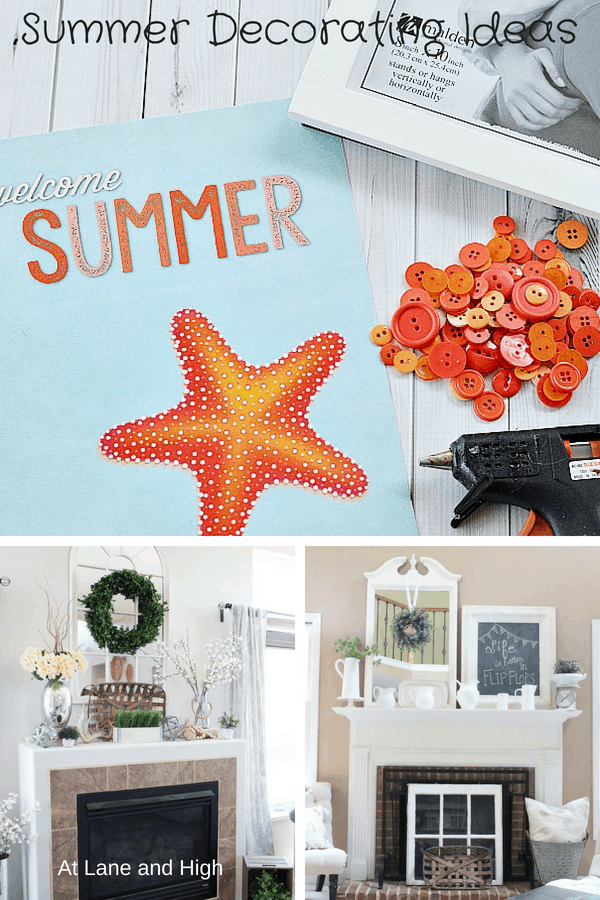 Fun Summer Decor Ideas for your Home!