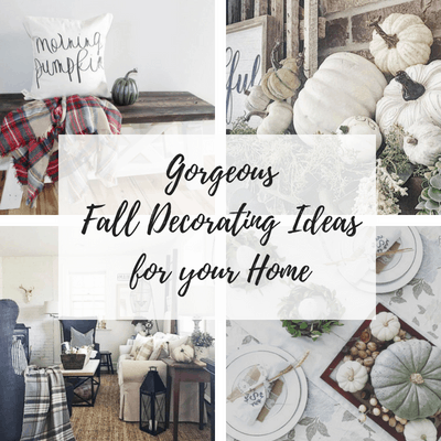 Fall Decor Ideas for your home. From Neutral Fall decor to Colorful fall decor, I have got you covered!