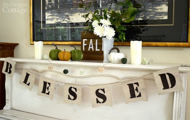 Today I am sharing my favorite Fall Mantel Decor Ideas. There are so many different ways to decorate for the Fall, you can go traditional colors, neutral or even jewel tones! I have put together some photos from these amazing bloggers to show you how you can transform your mantel for Fall.