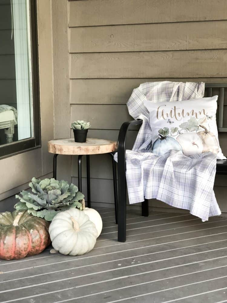 It's my favorite time of year, the Fall!  Personally, this is the best time of year in my opinion.  The weather is great, who doesn't love curling up in a sweatshirt and sitting by a fire pit, and pumpkin spice lattes!  Count me in!  So today I am bringing you my Fall Home Tour.