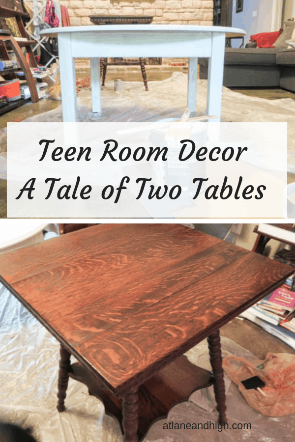 Teen Room Decor, Teen Hangout Space. Here we are participating in the $100 Room Challenge and renovating our basement family room for my teenagers.