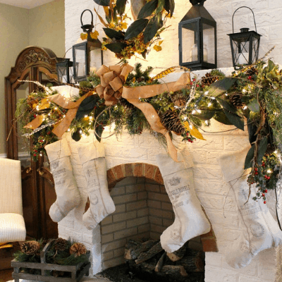 mantel decorations for christmas