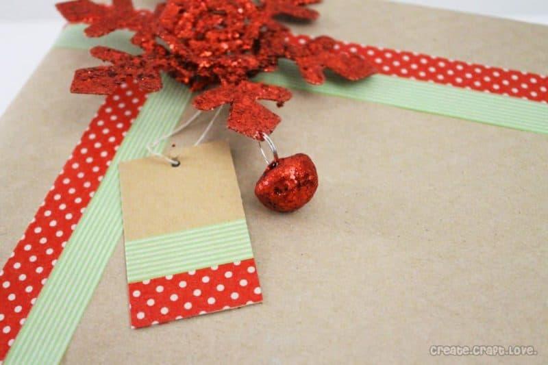 diy gift wrap ideas using washi tape
