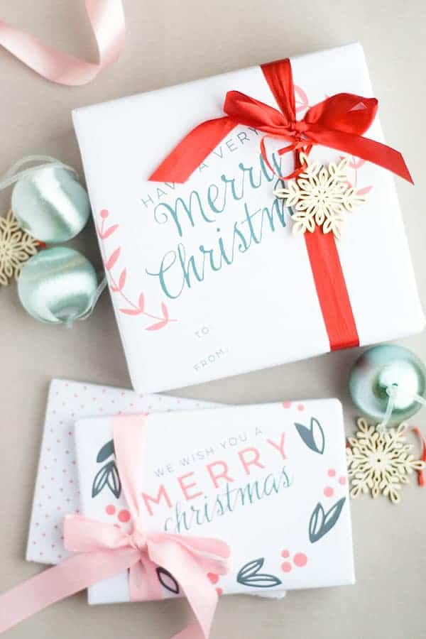DIY Gift Wrap Ideas here is printable christmas wrapping paper
