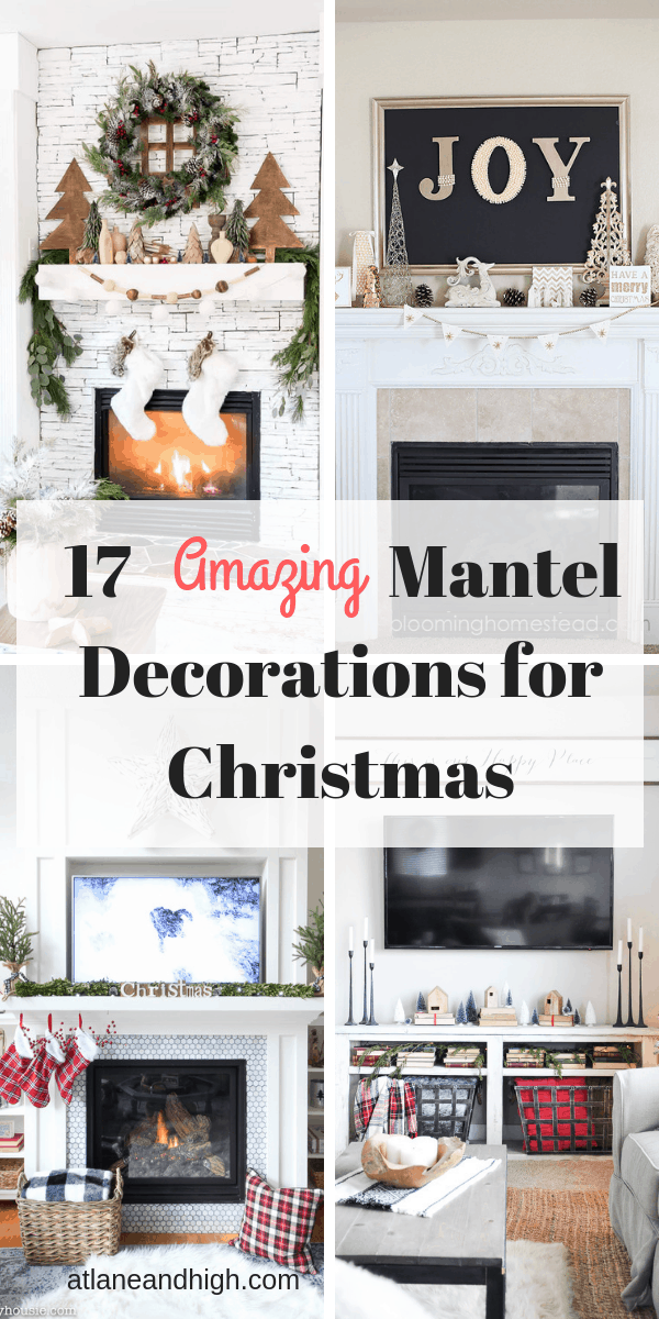 mantel decorations for christmas pin