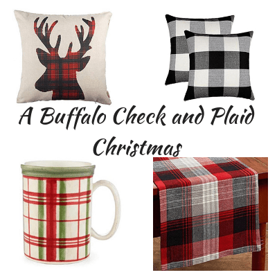 plaid christmas 4 plaid items for christmas