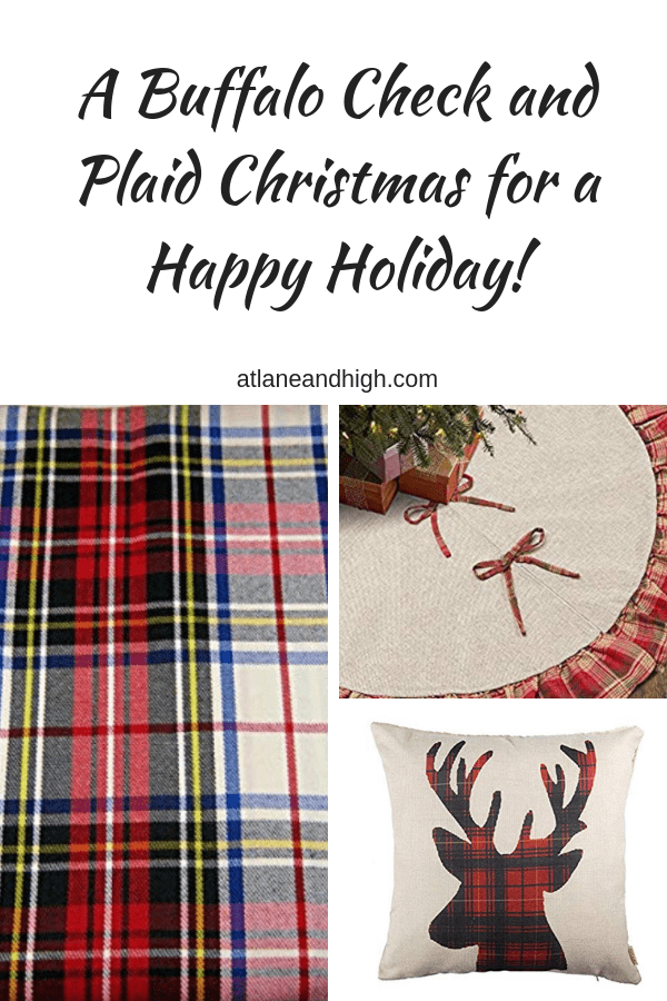 plaid christmas - pin 1