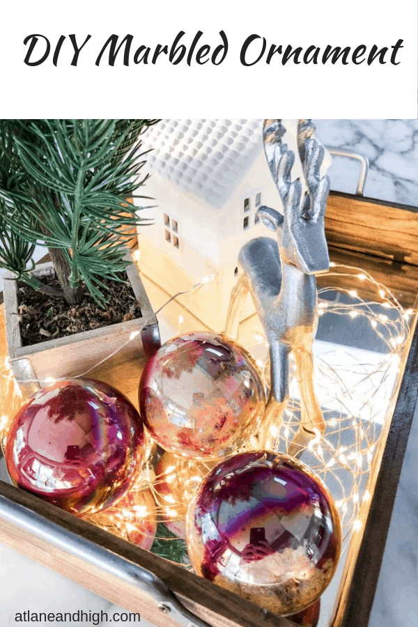 DIY Marbled Ornaments pin