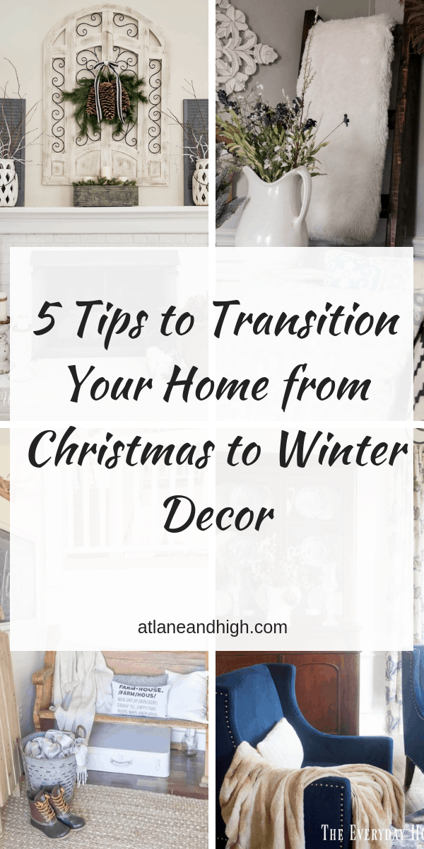 Winter Decor Pin for Pinterest