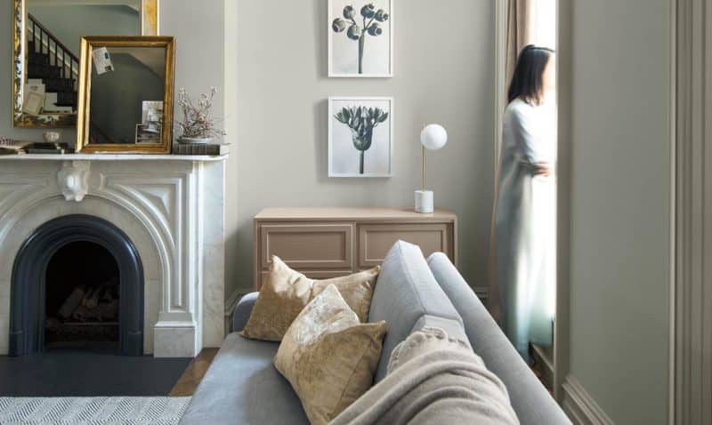 Benjamin Moore color of the year.