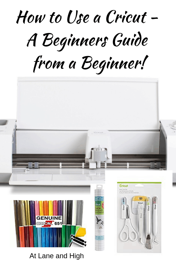 Pinterest Pin for How to Use a Cricut