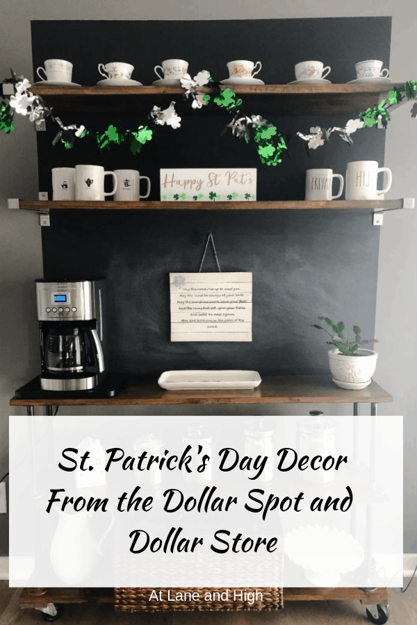 St. Patrick's Day Decorations Pin for Pinterest.