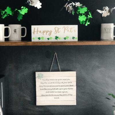 St. Patricks Day decorations