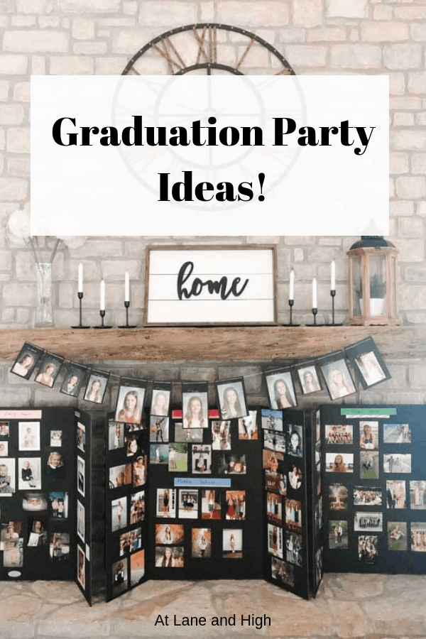 Graduation Party Ideas Pin for Pinterest