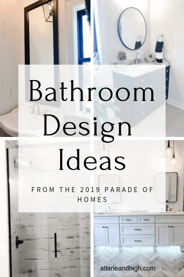 Bathroom Design Ideas Pin for Pinterest.