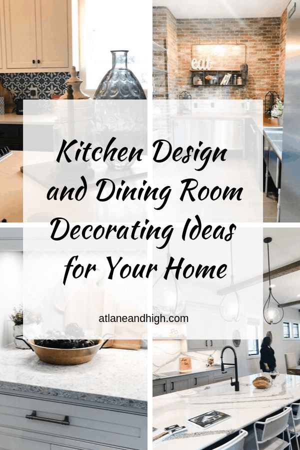 Kitchen design pin for Pinterest