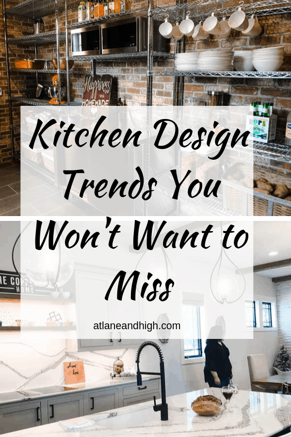 kitchen design pin for Pinterest.