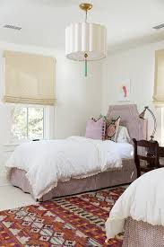 A bedroom with Benjamin Moore's White Dove Paint Color.