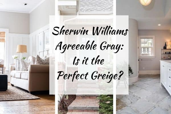 Sherwin Williams Agreeable Gray header image.