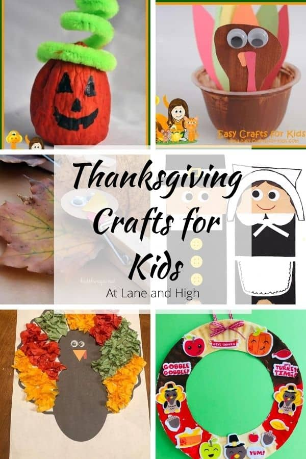 Thanksgiving Crafts for Kids Pin for Pinterest.