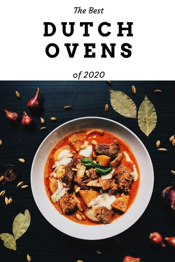 A Pin for Pinterest on the best dutch ovens.