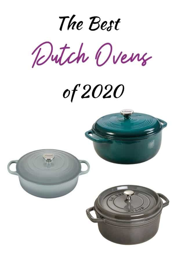 The Best Dutch Ovens pin for pinterest.