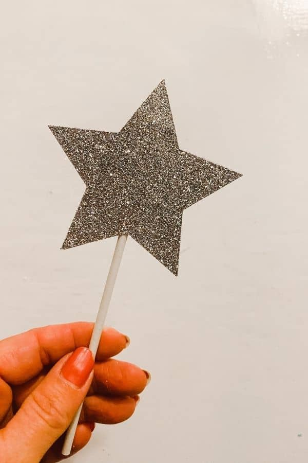 The finished star.