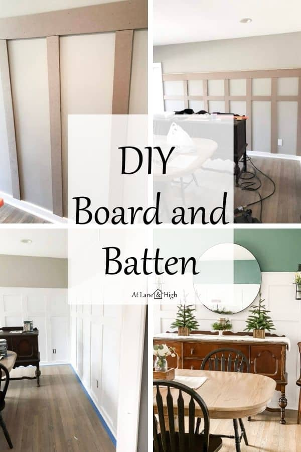 DIY board and batten pin for Pinterest.