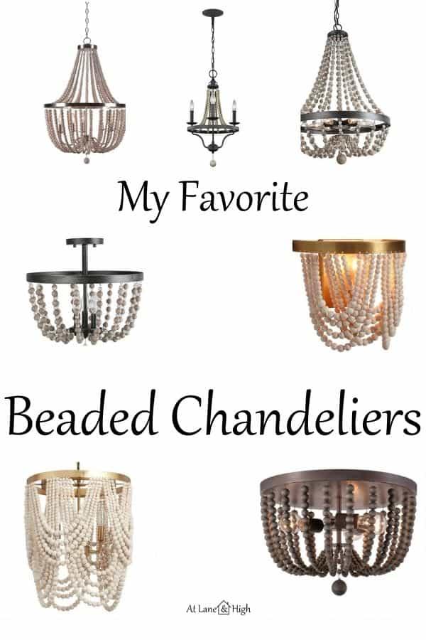 Beaded chandelier pin for pinterest