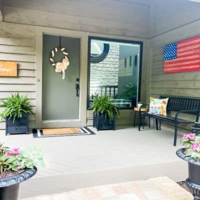 The summer front porch feature image.