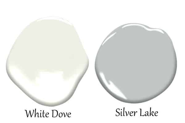 This is a side by side of White Dove and Silver Lake.