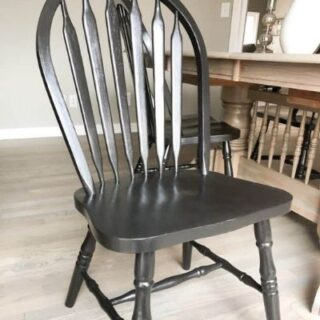 How to Paint Wood Chairs